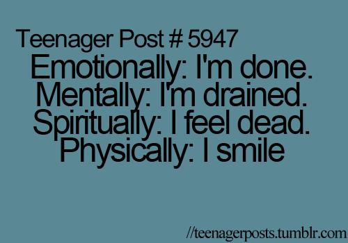 Emotionally, Mentally, Spiritually, and Physically