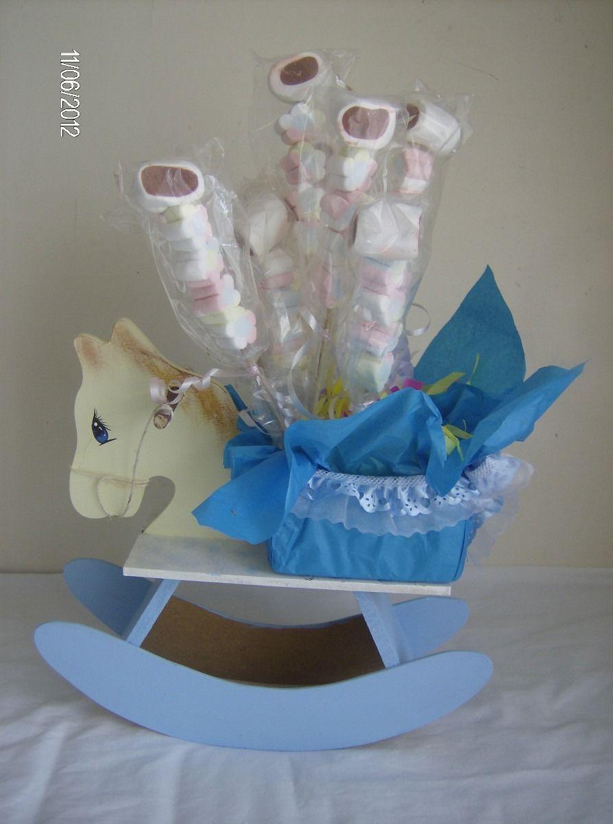 Caballo o dulces centros de mesa pinterest babies for Mesa baby shower nino