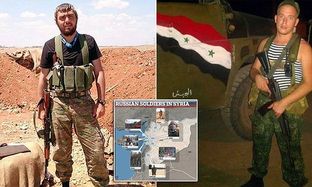 EXCLUSIVE: First picture 'proof' that Russia has troops on the ground all over Syria helping dictator Bashar Al-Assad - and they've been there since APRIL