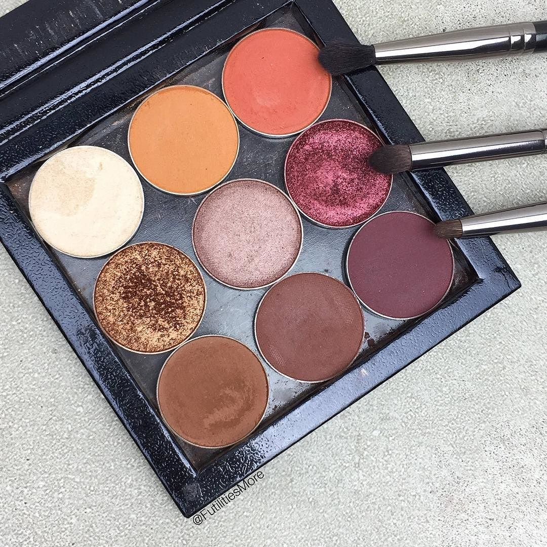 Best Fall Eyeshadow Palette From Makeup Geek Makeup