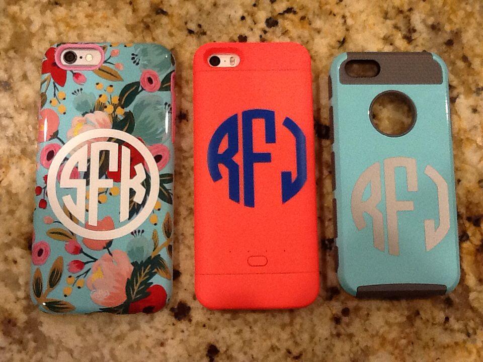 Monogram your phone case.