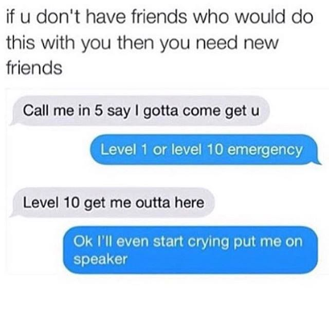 Friend level 100