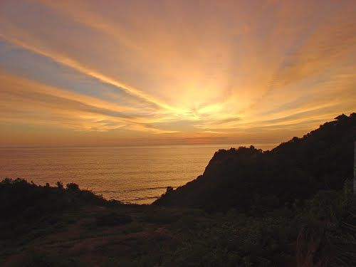 picture of Sunset at Punta Rinconada, Ecuador