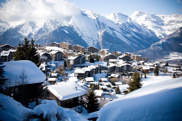 Si te gusta esquiar deberías conocer Nendaz, el secreto mejor guardado del invierno en #Suiza #esquí #Alpes