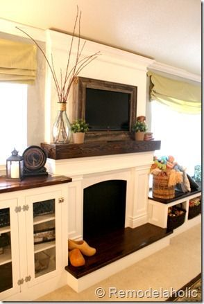Great frame! Good idea! Frame a Wall-Mount TV. ... | For the Home ...