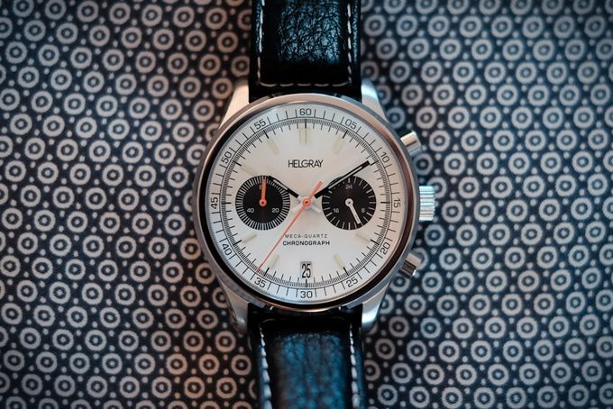 Helgray Silverstone - The 60's Racing Chronograph Watch by Helgray Watches — Kickstarter