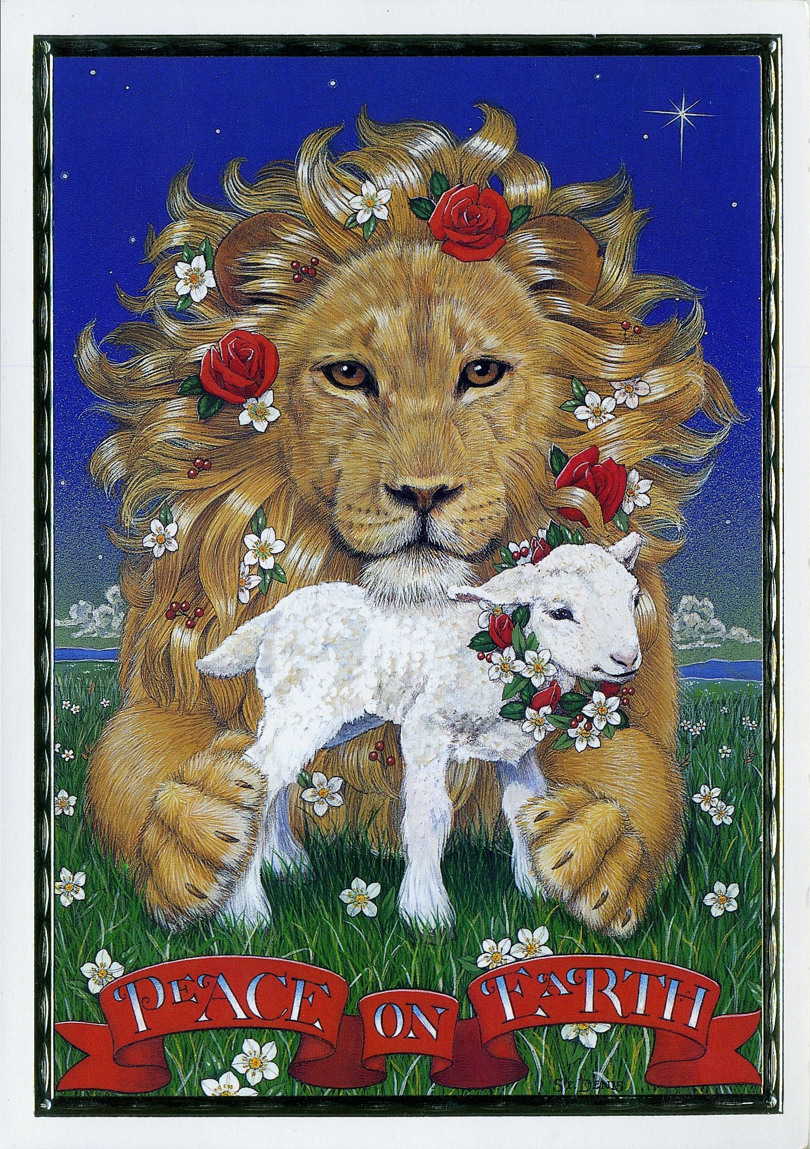 Pin by Claudia Pilon on Peace | Pinterest | Lion and lamb, Lions and ...