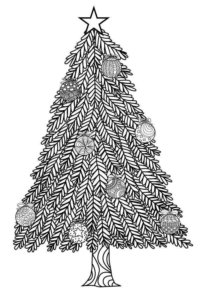 Christmas Tree Coloring Pages Christmas Tree Coloring Page Christmas Tree Pictures Tree Coloring Page