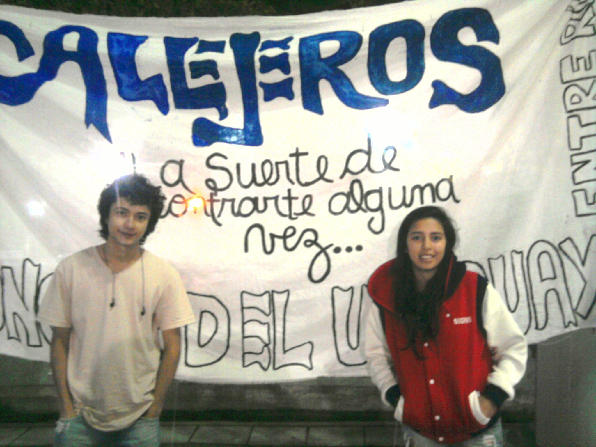 en #volanteadaLibertadaCallejeros en la plaza 25 con Siomara Ponce