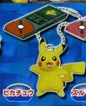 Pokemon B&W Pikachu Key Chain w/ Pokedex