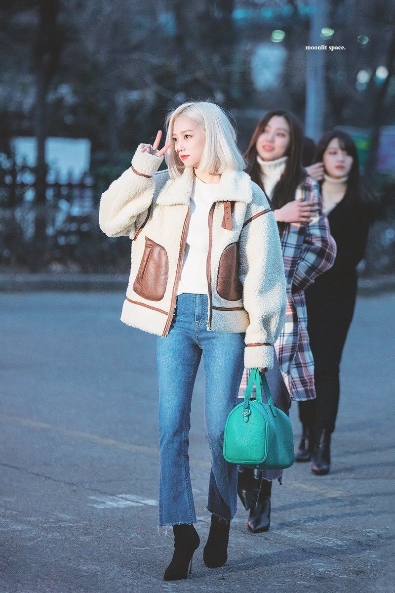 Crystal Clear No 1 Clcpicss Twitter Kpop Fashion Spring Outfits Casual Korean Fashion