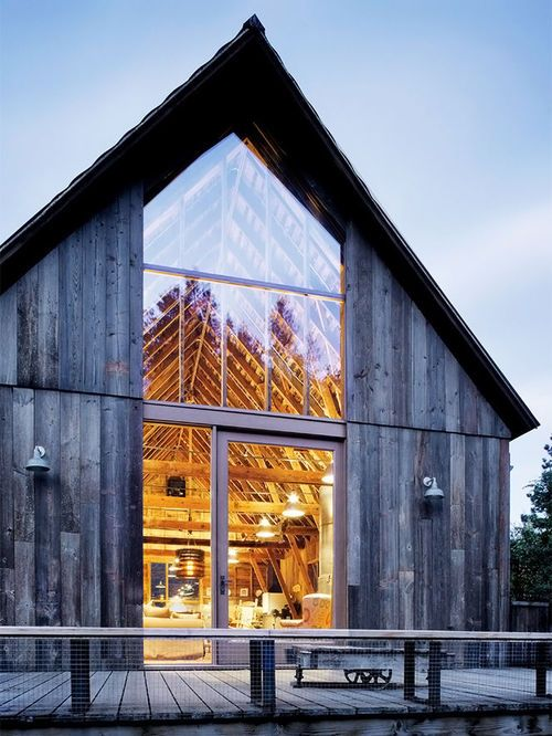 Barn Home - Beautiful Open Windows