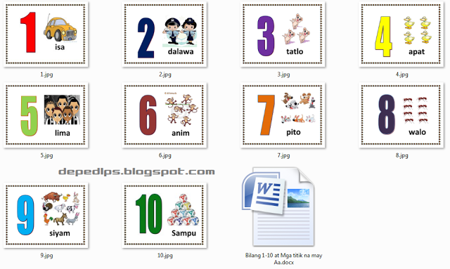 Bilang 1 10 At Mga Titik Na May Aa Zz Im S Alphabet Activities