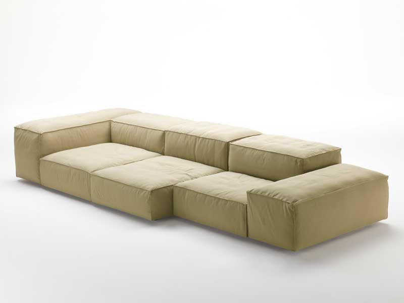 Divano multicolor ~ Tubby divano posti color grigio morbido made product