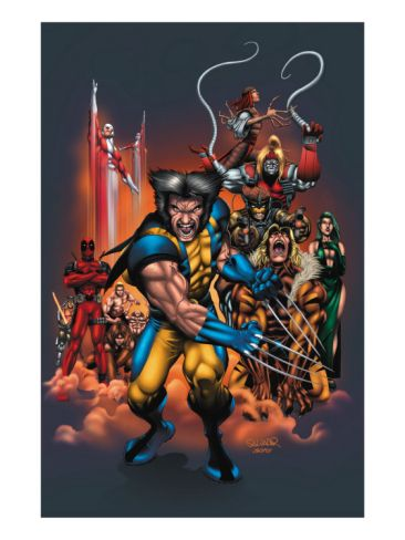 The Official Handbook Of The Marvel Universe: Wolverine 2004 Cover: Wolverine
