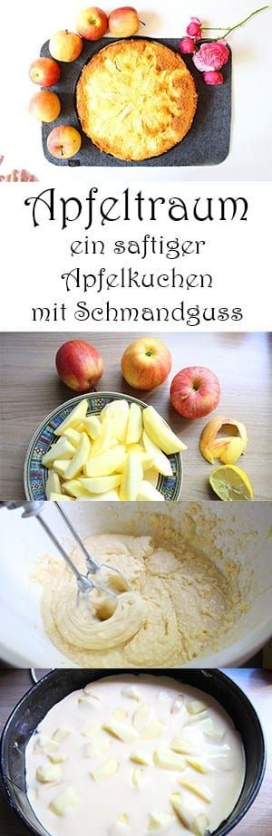 Apfeltraum - ein saftiger Apfelkuchen mit Schmandguss #quickcookies