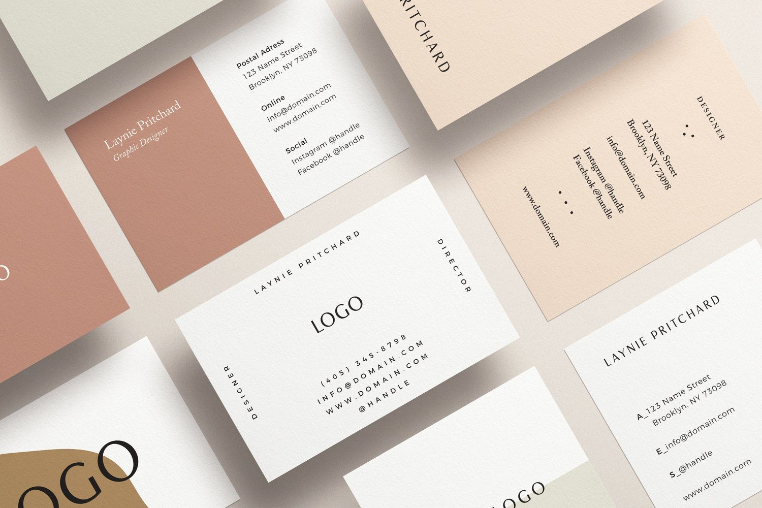 Free Business Card Templates Mint Lane Free Business Card Templates Free Business Cards Marketing Business Card