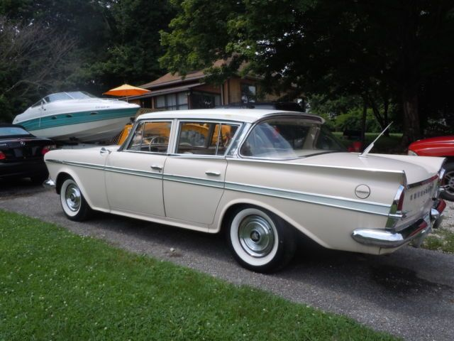 1960 Amc Rambler Ambassador Custom For Sale Photos Technical