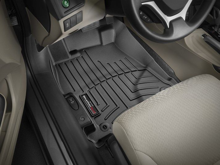 2013 Honda Civic Weathertech Floorliner Custom Fit Car Floor Protection From Mud Water Sand And Salt Weathe Weather Tech Weather Tech Floor Mats Fit Car