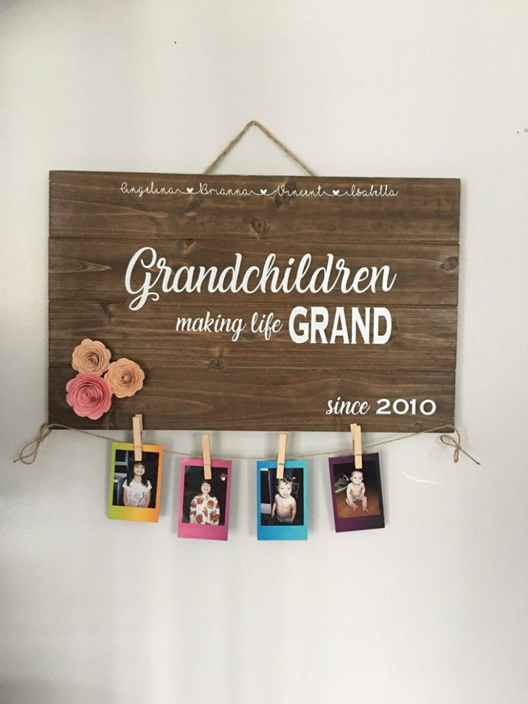 diy gifts for grandma for mother's day