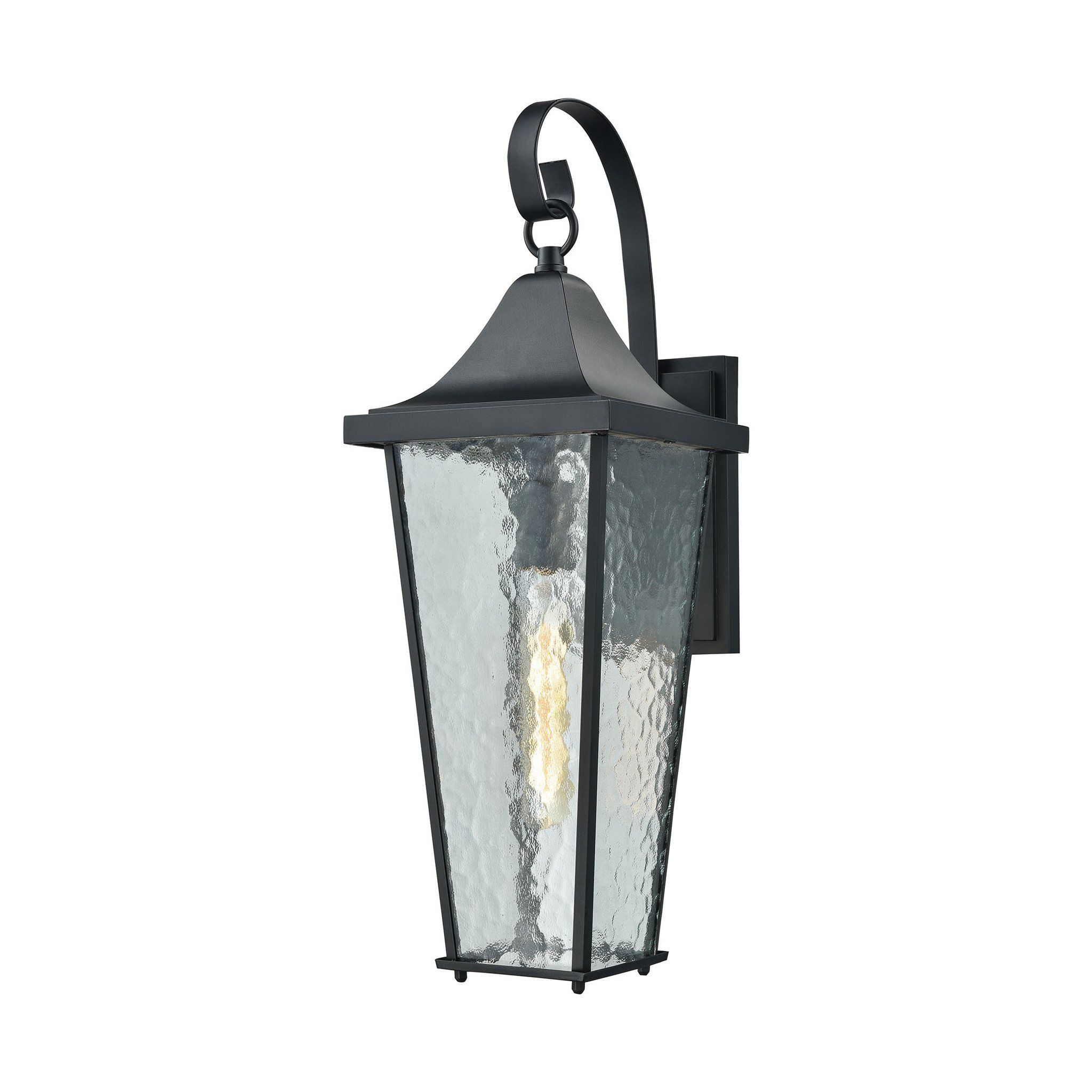 Elk lighting vinton collection matte black finish products