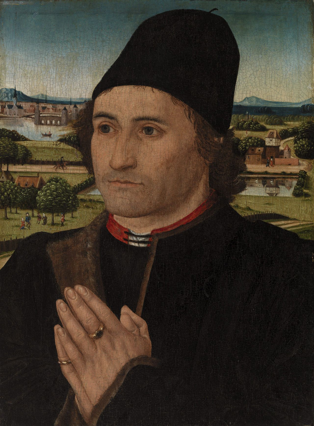Portrait of a Man by Hans Memling, The Barnes Foundation ...