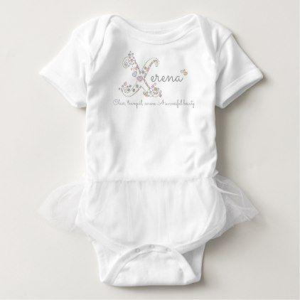 Xerena girls name meaning x monogram baby apparel baby bodysuit xerena girls name meaning x monogram baby apparel baby bodysuit baby gifts giftidea diy unique negle Images
