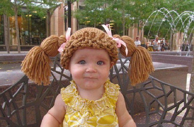 Sombreritos para niñas... Muñequitas | Bebe Tejido | Pinterest