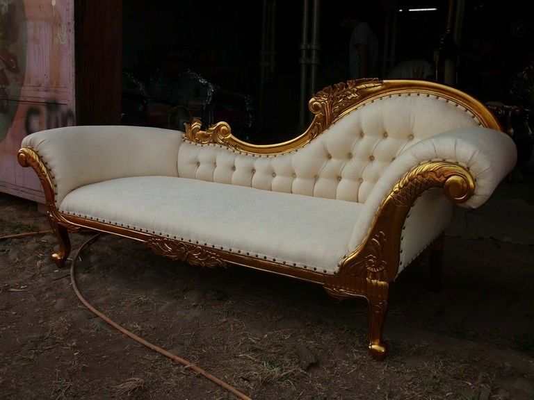 Superb Cleopatra Chaise Lounge Sofa Classic Furniture Vintage Gmtry Best Dining Table And Chair Ideas Images Gmtryco