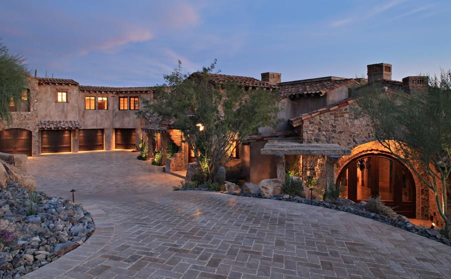 Luxury estates scottsdale arizona desert montain homes for Mansions for sale in scottsdale az