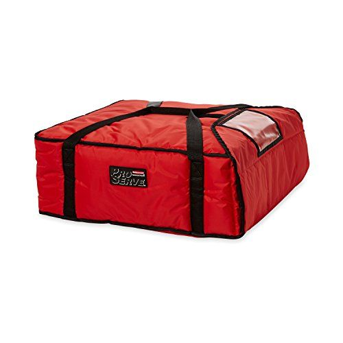 Rubbermaid Commercial ProServe Professional Pizza Delivery Bag Large Red FG9F3700RED -- For more information, visit image link.
