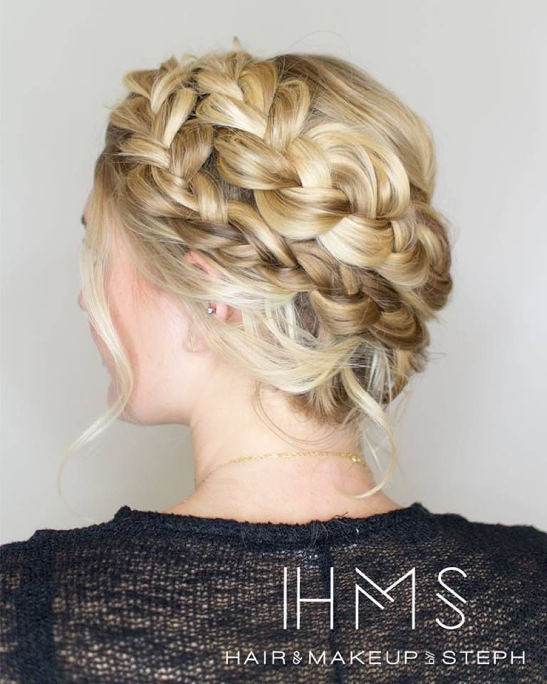 Full Crown Hairstyles: Competition Hair, Bridal Hairstyles