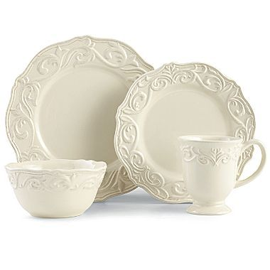Dinnerware Chris Madden® Corvella - jcpenney  sc 1 st  Pinterest & LOVE!! -- Dinnerware Chris Madden® Corvella - jcpenney | Products ...