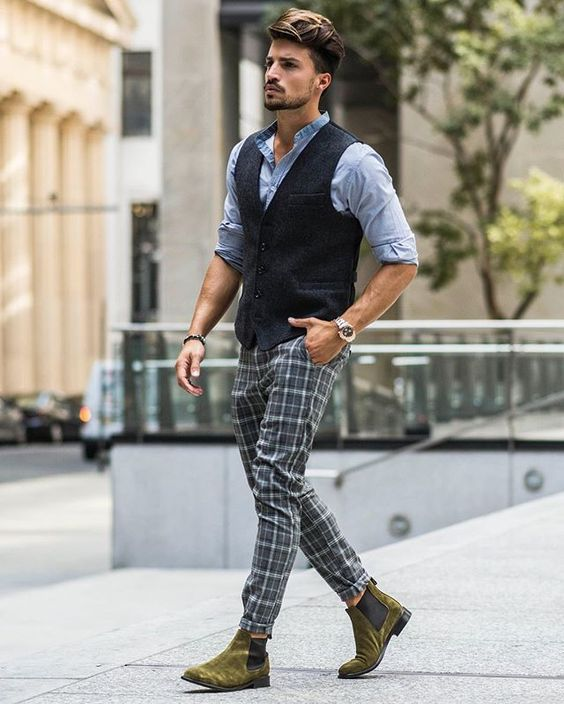 e10f196bf Bringing the Italian Nohow style in New York • Italy Chelsea Boots ,  Riccardo Trousers , Korean Collar Shirt and Ezio Vest ! Find them all on  nohowstyle.com ...