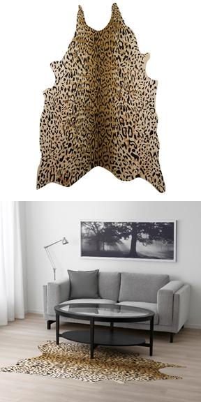 Animal Print Rugs Ikea.Omedelbar Rug 59 99 Textiles Like A Statement Leopard