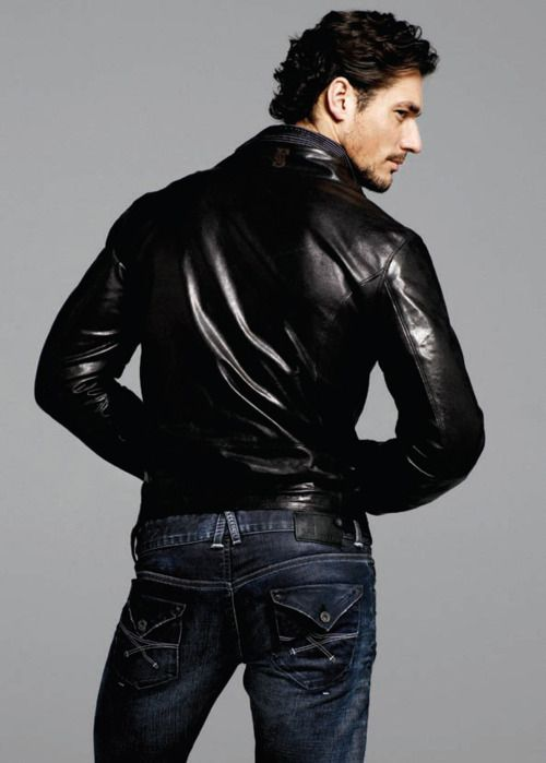 Front or back-- David's hot on both sides ;)