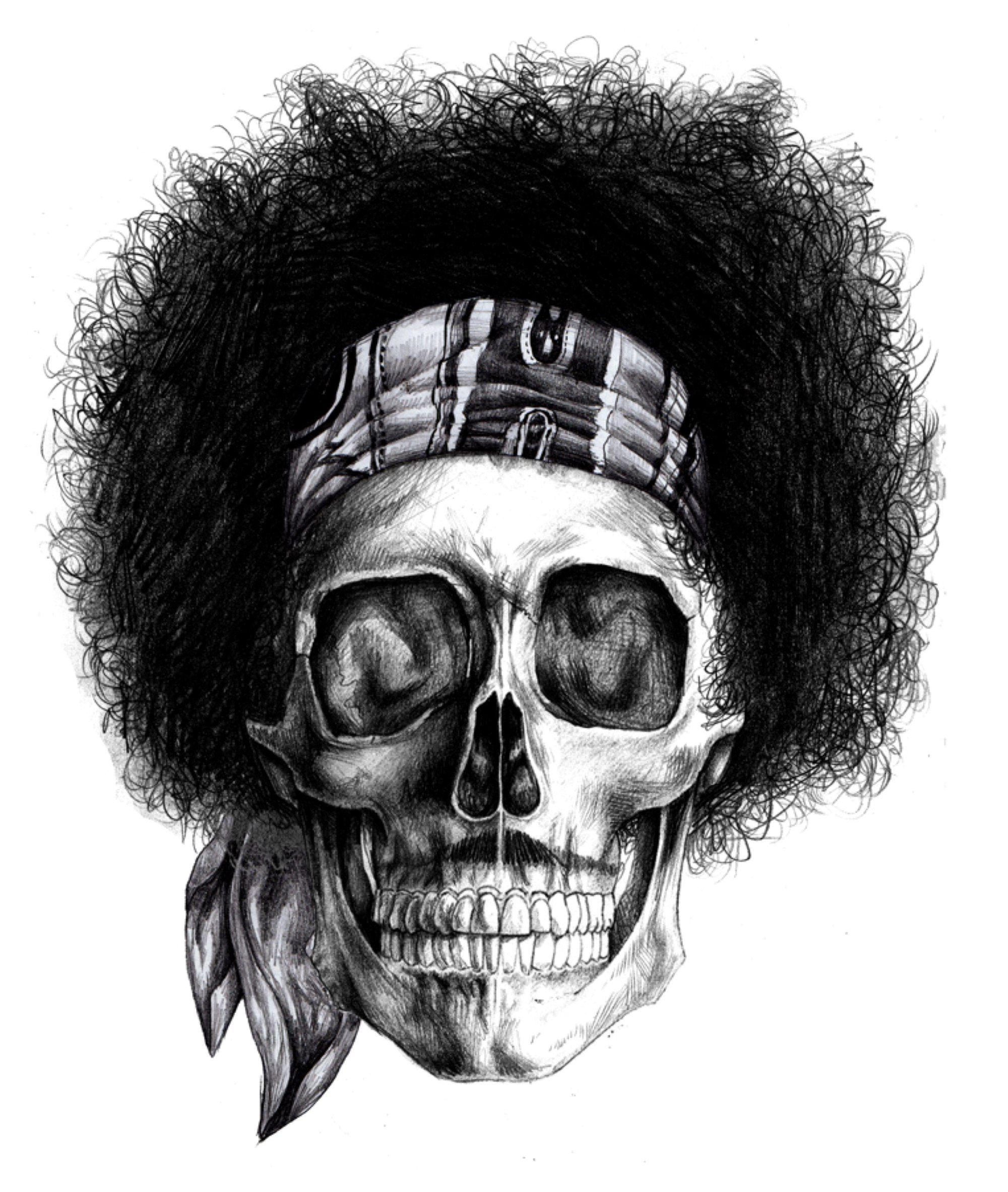 Image detail for -Skull Hendrix   MondoGonzo  3aeade18c21