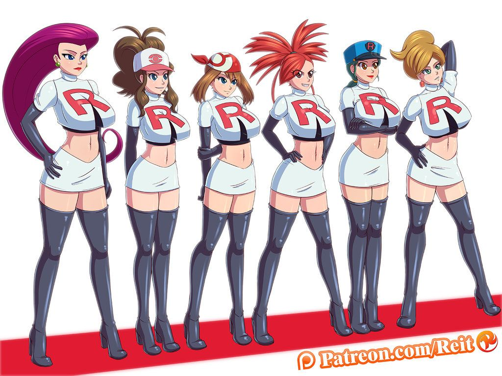Pokemon team rocket naked 2