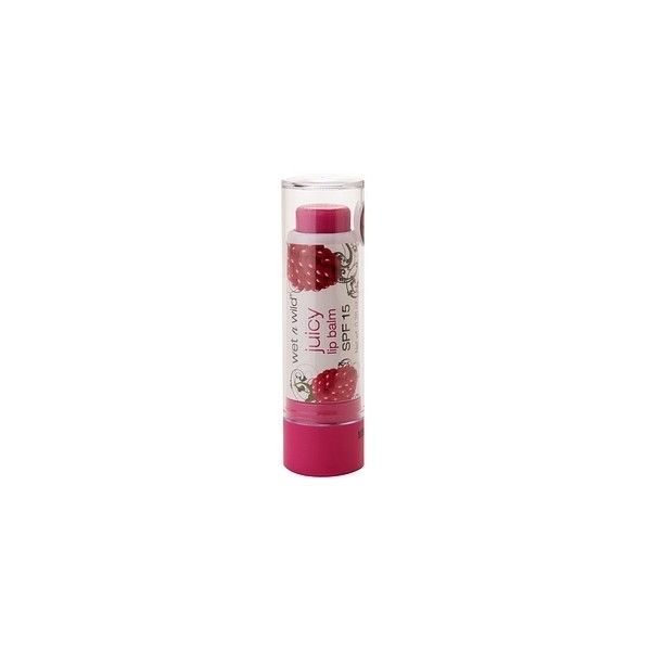 Wet n Wild Juicy Lip Balm SPF 15, Red Raspberry 281C ($2.99) ❤ liked on Polyvore featuring beauty products, skincare, lip care, lip treatments, makeup, cosmetics, lips, sugar lip treatment and wet n wild