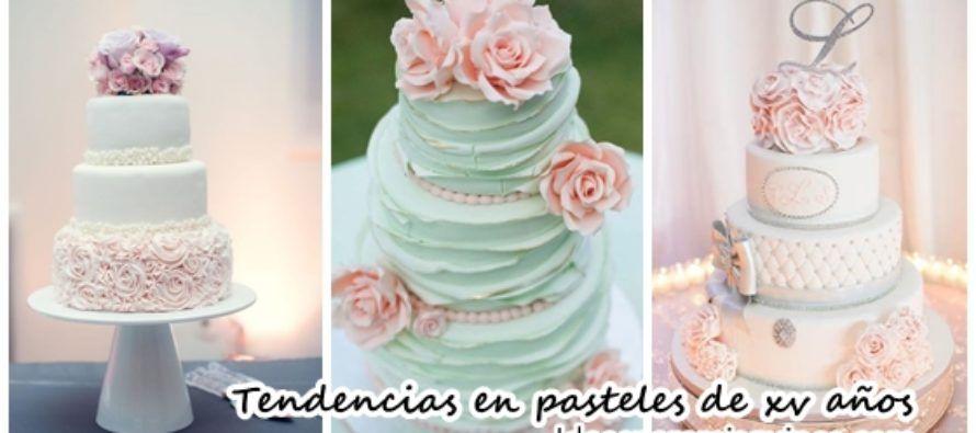 Tendencia En Pasteles Para Bodas 2017: Tendencias En Pasteles De Xv Años 2017