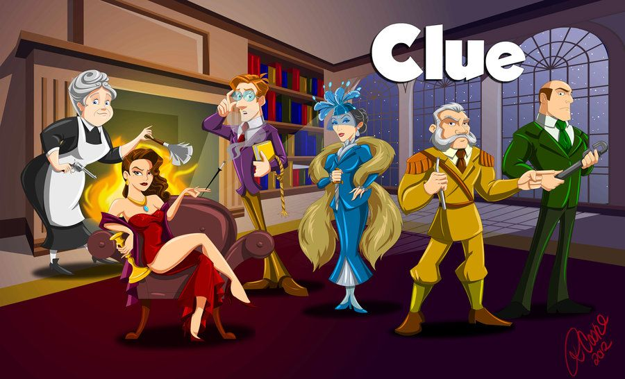 Clue by on deviantART Clue