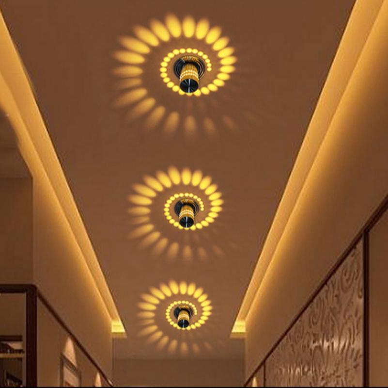 T Simple Sunshine Colorful Small Ceiling Light Ktv Bar Bedroom