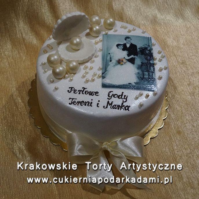 2d821465852333 183. Tort na perłowe gody. Cake for pearl moon. | Torty ...