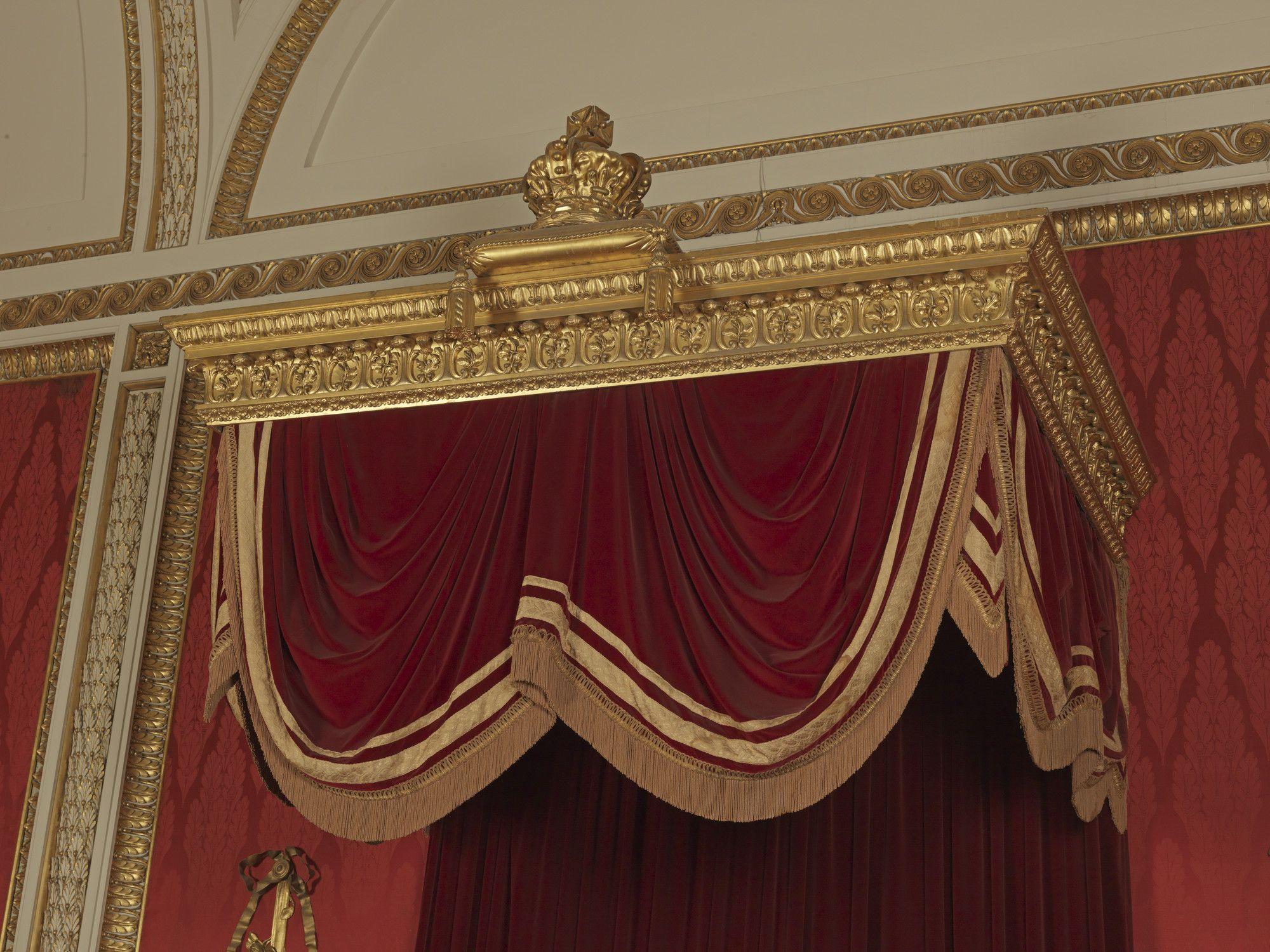 Throne canopy & Throne canopy | Buckingham Palace | Pinterest | Canopy Buckingham ...