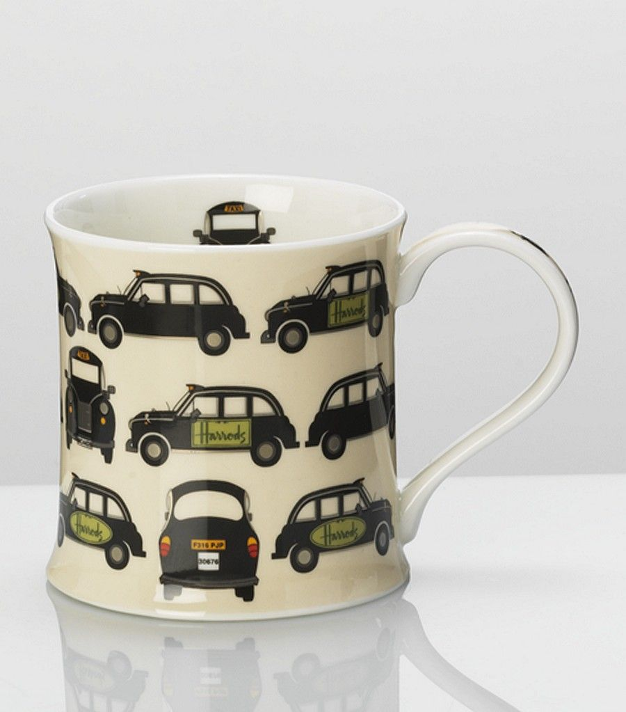 Harrods Black Cab mug -- a fun Valentine gift for the hubby?