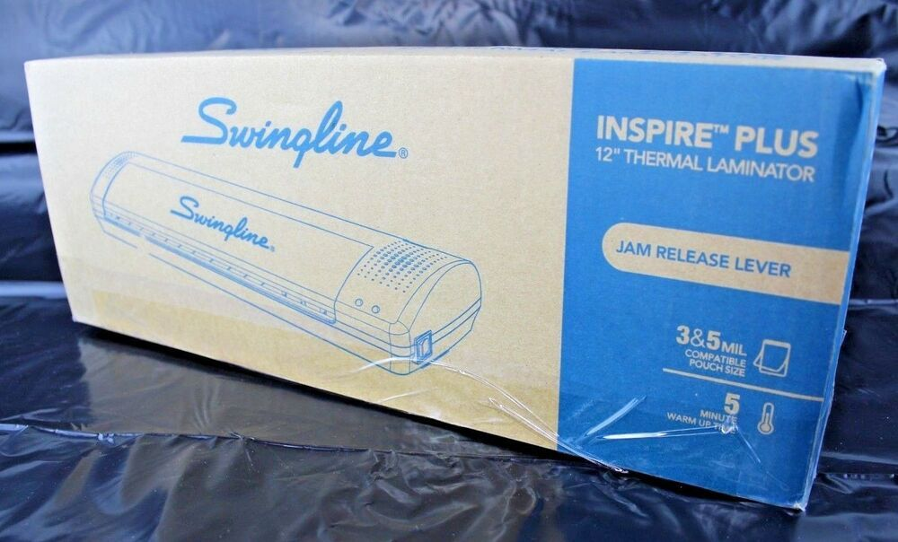 Swingline 12 Laminator Thermal Inspire Plus Lamination Machine Jam Release Lever Swingline Thermal Inspiration