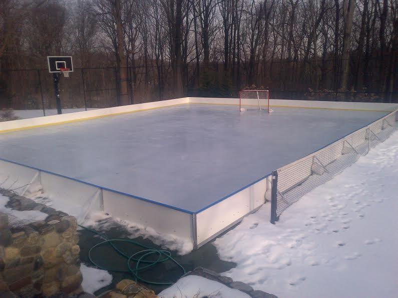 Ice Rink Liners | Backyard, Backyard ice rink, Ice rink