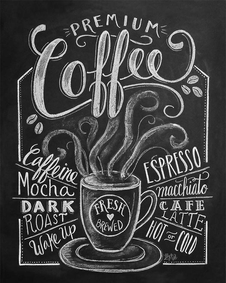 Delta Breezes Coffee Shop Decor Coffee Print Coffee Chalkboard