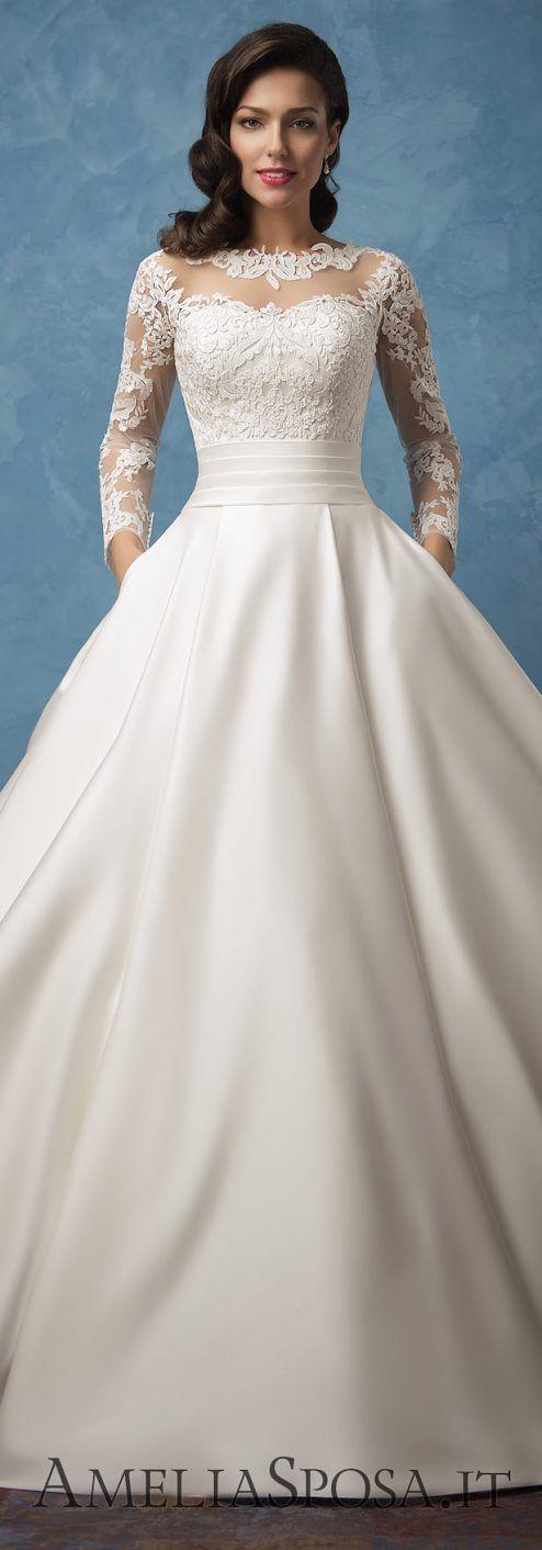Amelia Sposa 2017 | Hochzeitskleider und Brautkleider