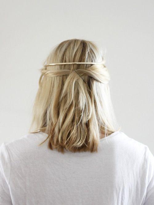 metal hair band